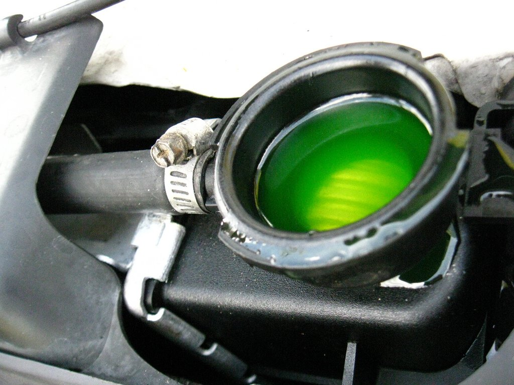 Changing the coolant